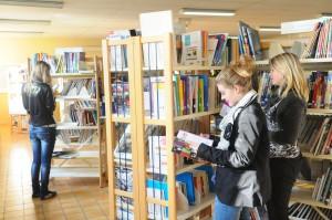 De nombreuses ressources documentaires au Lycée Saint-André